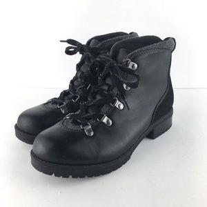 Clark's Black Combat Moto Military Boots 8.5WIDE